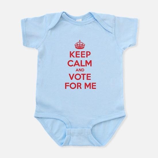 K C Vote Me Infant Bodysuit