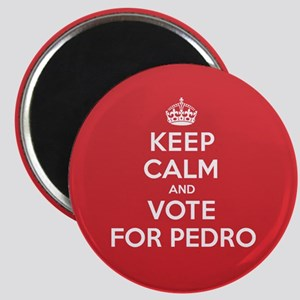 K C Vote Pedro Magnet