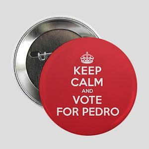 """K C Vote Pedro 2.25"""" Button"""