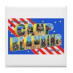 Camp Blanding Florida Tile Coaster