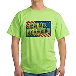 Camp Blanding Florida Green T-Shirt
