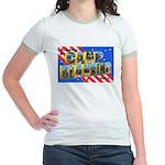 Camp Blanding Florida (Front) Jr. Ringer T-Shirt