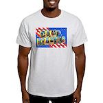 Camp Blanding Florida (Front) Ash Grey T-Shirt