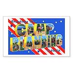 Camp Blanding Florida Rectangle Sticker