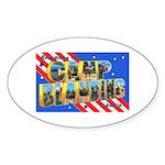 Camp Blanding Florida Oval Sticker