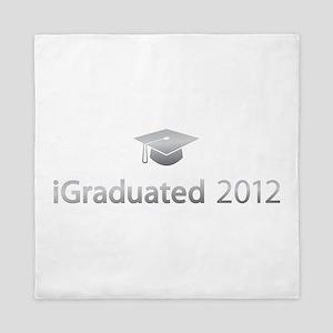 i Graduated 2012 Queen Duvet