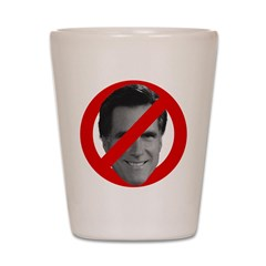 No Mitt Shot Glass