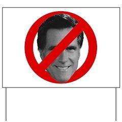 No Mitt Yard Sign