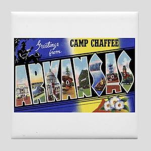Camp Chaffee Arkansas Tile Coaster