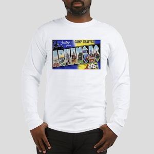 Camp Chaffee Arkansas (Front) Long Sleeve T-Shirt