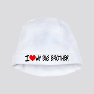 I Love My Big Brother Baby Hat