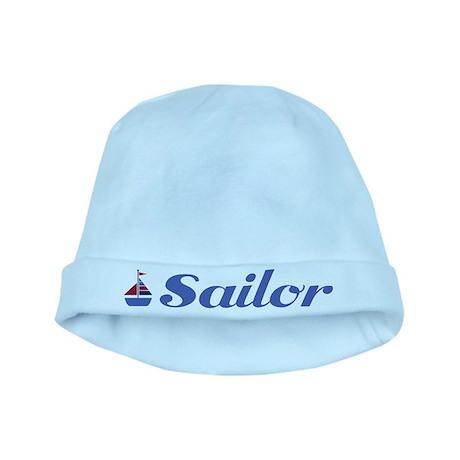 Cute Sailboat Sailor Baby Infant Beanie Hat