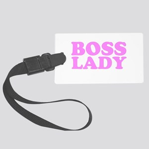 bosslady1rosa Large Luggage Tag