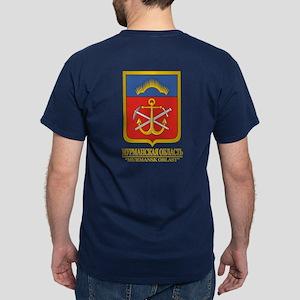 Murmansk Oblast COA Dark T-Shirt