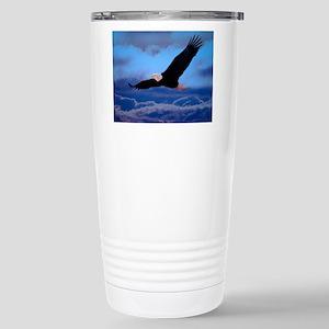 eagle Soaring High Stainless Steel Travel Mug