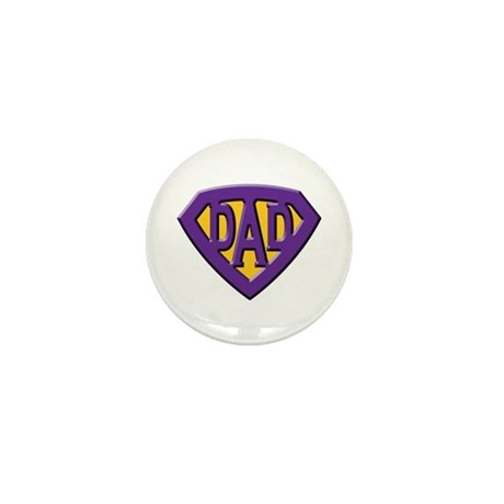 Super-Dad Mini Button (100 pack)