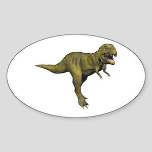 Tyrannosaurus Rex Oval Sticker