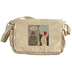 aardvark cartoon Messenger Bag