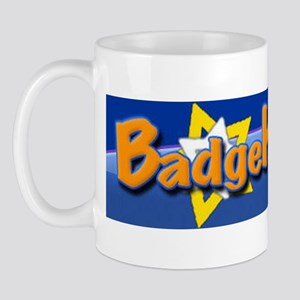 New BadgeHelp logo Mug