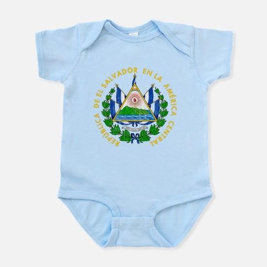 El Salvador Coat Of Arms Infant Bodysuit