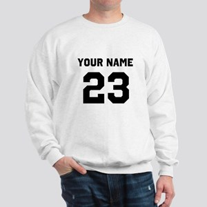 Customize sports jersey number Sweatshirt