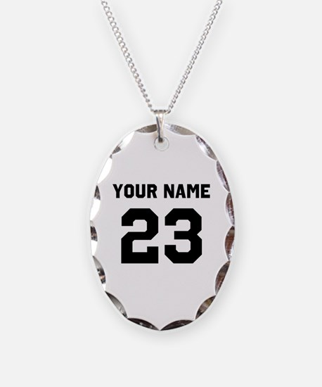 Customize sports jersey number Necklace