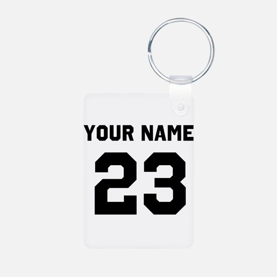 Customize sports jersey nu Keychains