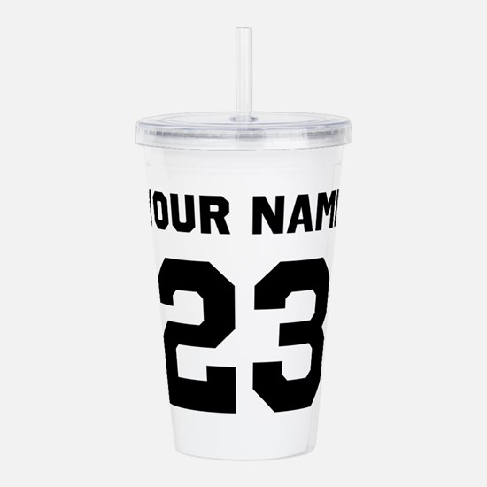 Customize sports jerse Acrylic Double-wall Tumbler