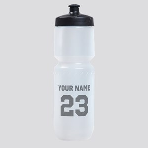 Customize sports jersey number Sports Bottle