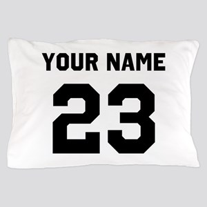 Customize sports jersey number Pillow Case