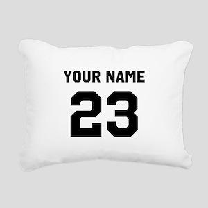 Customize sports jersey Rectangular Canvas Pillow