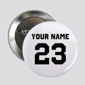 "Customize sports jersey number 2.25"" Button"