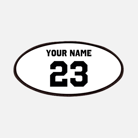 Customize sports jersey number Patch