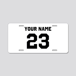 Customize sports jersey num Aluminum License Plate