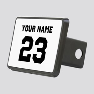 Customize sports jersey nu Rectangular Hitch Cover