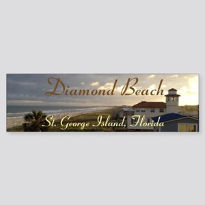 Diamond Beach Sticker (Bumper)