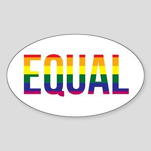Gay Pride Equal Sticker