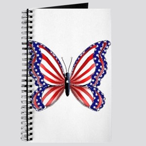 Patriotic Butterfly Journal
