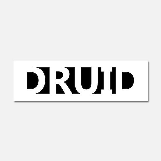 Druid Car Magnet 10 x 3