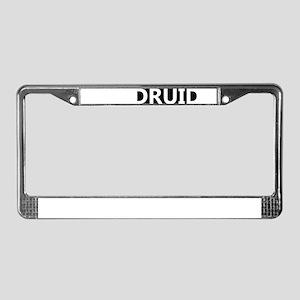 Druid License Plate Frame