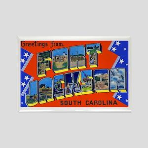 Fort Jackson South Carolina Rectangle Magnet