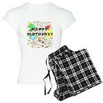 Happy Birthday Women's Light Pajamas