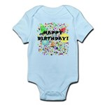 Happy Birthday Infant Bodysuit