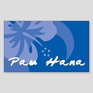 Pau Hana Sticker (Rectangle)