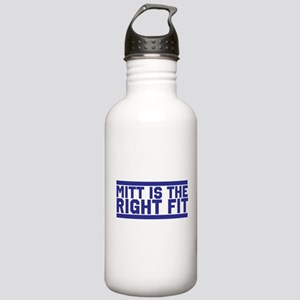 Mitt is the right fit Stainless Water Bottle 1.0L