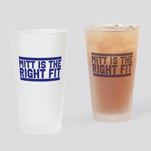 Mitt is the right fit Drinking Glass