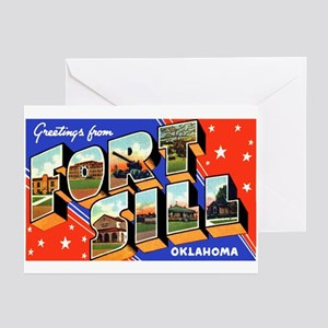 Fort Sill Oklahoma Greeting Cards (Pk of 10)