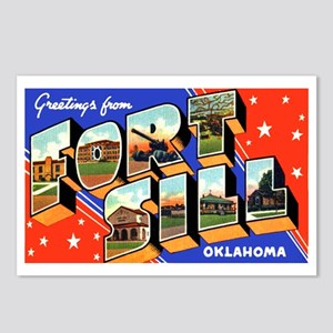 Fort Sill Oklahoma Postcards (Package of 8)