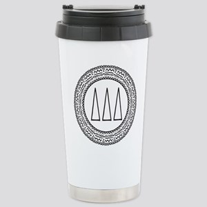 Delta Delta Delta 16 oz Stainless Steel Travel Mug