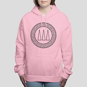 Delta Delta Delta Medall Women's Hooded Sweatshirt